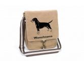 Leben & WohnenTeelichthalterDeutscher Pinscher Canvas Schultertasche Tasche mit Hundemotiv und Namen