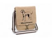 Bekleidung & AccessoiresHundesportwesten mit Hundemotiven inkl. Rückentasche MIL-TEC ®Magyar Vizsla 2 Canvas Schultertasche Tasche mit Hundemotiv und Namen