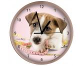 Für MenschenWeihnachtsmarktWanduhr Hund: Jack Russell Terrier