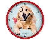 Taschen & RucksäckeGeldbörsen & HandytaschenWanduhr Hund: Golden Retriever