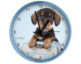 Taschen & RucksäckeCanvas Tasche HunderasseWanduhr Hund: Dackel