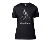 Für MenschenWeihnachtsmarktHundespruch T-Shirt: Hand & Pfote Damen