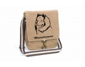 Bekleidung & AccessoiresHundesportwesten mit Hundemotiven inkl. Rückentasche MIL-TEC ®Eurasier 1 Canvas Schultertasche Tasche mit Hundemotiv und Namen