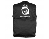 Leben & WohnenHundemotiv HandtücherAlaskan Malamute 1 - Hundesportweste mit Rückentasche MIL-TEC ®