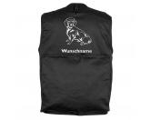 Taschen & RucksäckeCanvas Tasche HunderasseAlpenländische Dachsbracke - Hundesportweste mit Rückentasche MIL-TEC ®