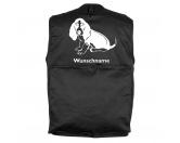 Bekleidung & AccessoiresHundesportwesten mit Hundemotiven inkl. Rückentasche MIL-TEC ®Basset Hound 4 - Hundesportweste mit Rückentasche MIL-TEC ®