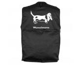 Garderoben & SchlüsselboardsLeinengarderoben 3 HakenBasset Hound 5 - Hundesportweste mit Rückentasche MIL-TEC ®