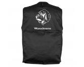 Taschen & RucksäckeCanvas Tasche HunderasseBasset Griffon Vendéen - Hundesportweste mit Rückentasche MIL-TEC ®