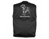Bekleidung & AccessoiresHundesportwesten mit Hundemotiven inkl. Rückentasche MIL-TEC ®Bayerischer Gebirgsschweißhund - Hundesportweste mit Rückentasche MIL-TEC ®