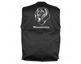 Bekleidung & AccessoiresHundesportwesten mit Hundemotiven inkl. Rückentasche MIL-TEC ®Bayerischer Gebirgsschweißhund 2 - Hundesportweste mit Rückentasche MIL-TEC ®