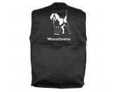 Bekleidung & AccessoiresHundesportwesten mit Hundemotiven inkl. Rückentasche MIL-TEC ®Beagle 3 - Hundesportweste mit Rückentasche MIL-TEC ®