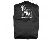RucksäckeCanvas Rucksack HunderassenBearded Collie - Hundesportweste mit Rückentasche MIL-TEC ®