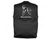 Aufkleber & TafelnHund Inside Auto AufkleberBedlington Terrier 2 - Hundesportweste mit Rückentasche MIL-TEC ®
