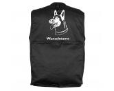 Taschen & RucksäckeCanvas Tasche HunderasseBelgischer Schäferhund 2 - Hundesportweste mit Rückentasche MIL-TEC ®