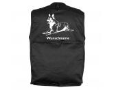 Taschen & RucksäckeCanvas Tasche HunderasseBelgischer Schäferhund 3 - Hundesportweste mit Rückentasche MIL-TEC ®