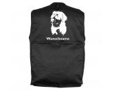 Aufkleber & TafelnBerner Sennenhund 2 - Hundesportweste mit Rückentasche MIL-TEC ®