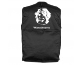 Selbstklebende KreidetafelnHundeBerner Sennenhund 5 - Hundesportweste mit Rückentasche MIL-TEC ®