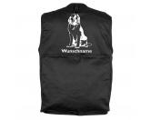Tiermotiv Tassen3D Tassen HundeBernhardiner 2 - Hundesportweste mit Rückentasche MIL-TEC ®