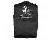 Bekleidung & AccessoiresHundesportwesten mit Hundemotiven inkl. Rückentasche MIL-TEC ®Bloodhound 2 - Hundesportweste mit Rückentasche MIL-TEC ®