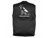 Leben & WohnenHundemotiv HandtücherBloodhound 3 - Hundesportweste mit Rückentasche MIL-TEC ®