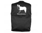 Für MenschenWeihnachtsmarktBorder Collie 3 - Hundesportweste mit Rückentasche MIL-TEC ®