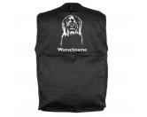 Aufkleber & TafelnHund Inside Auto AufkleberBriard 2 - Hundesportweste mit Rückentasche MIL-TEC ®