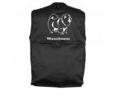 Taschen & RucksäckeCanvas Tasche HunderasseChow-Chow - Hundesportweste mit Rückentasche MIL-TEC ®