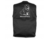 Taschen & RucksäckeCanvas Tasche HunderasseChow-Chow 2 - Hundesportweste mit Rückentasche MIL-TEC ®