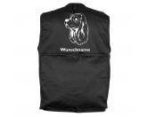 Taschen & RucksäckeCanvas Tasche HunderasseAmerikanischer Cocker Spaniel - Hundesportweste mit Rückentasche MIL-TEC ®