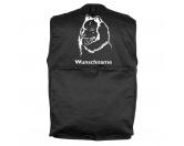 Taschen & RucksäckeCanvas Tasche HunderasseEurasier 2  - Hundesportweste mit Rückentasche MIL-TEC ®