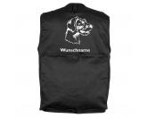 Taschen & RucksäckeCanvas Tasche HunderasseDeutsch Drahthaar 2 - Hundesportweste mit Rückentasche MIL-TEC ®
