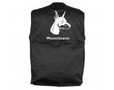 Bekleidung & AccessoiresHundesportwesten mit Hundemotiven inkl. Rückentasche MIL-TEC ®Dobermann 3 - Hundesportweste mit Rückentasche MIL-TEC ®