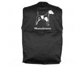 Socken mit TiermotivSocken mit HundemotivFoxterrier Kurzhaar - Hundesportweste mit Rückentasche MIL-TEC ®
