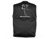 Schmuck & AccessoiresHunderassen Schmuck AnhängerItalienisches Windspiel Greyhound - Hundesportweste mit Rückentasche MIL-TEC ®