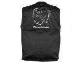 Selbstklebende KreidetafelnHundeMalteser 1 - Hundesportweste mit Rückentasche MIL-TEC ®