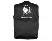 RucksäckeCanvas Rucksack HunderassenMops 1 - Hundesportweste mit Rückentasche MIL-TEC ®