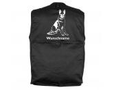 Bekleidung & AccessoiresHundesportwesten mit Hundemotiven inkl. Rückentasche MIL-TEC ®Deutscher Schäferhund 5 - Hundesportweste mit Rückentasche MIL-TEC ®