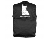 Schmuck & AccessoiresHunderassen Schmuck AnhängerScottish Terrier 3 - Hundesportweste mit Rückentasche MIL-TEC ®