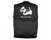 Schmuck & AccessoiresHunderassen Schmuck AnhängerScottish Terrier 5 - Hundesportweste mit Rückentasche MIL-TEC ®