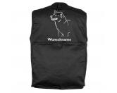 Taschen & RucksäckeCanvas Tasche HunderasseShiba Inu - Hundesportweste mit Rückentasche MIL-TEC ®