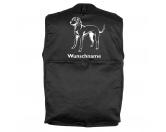 AusstellungszubehörHundeausstellungs-ClipsVizsla 3 - Hundesportweste mit Rückentasche MIL-TEC ®