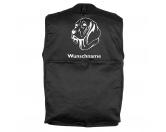 RucksäckeCanvas Rucksack HunderassenWeimaraner 3 - Hundesportweste mit Rückentasche MIL-TEC ®