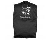 Taschen & RucksäckeCanvas Tasche HunderasseWest Highland White Terrier 3 - Hundesportweste mit Rückentasche MIL-TEC ®