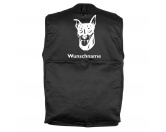 Schmuck & AccessoiresHunderassen Schmuck AnhängerZwergpinscher - Hundesportweste mit Rückentasche MIL-TEC ®