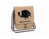 Bekleidung & AccessoiresHundesportwesten mit Hundemotiven inkl. Rückentasche MIL-TEC ®English Pointer Canvas Schultertasche Tasche mit Hundemotiv und Namen