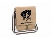Taschen & RucksäckeCanvas Tasche HunderasseAppenzeller Sennenhund 2 Canvas Schultertasche Tasche mit Hundemotiv und Namen