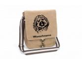 Bekleidung & AccessoiresHundesportwesten mit Hundemotiven inkl. Rückentasche MIL-TEC ®Labradoodle Canvas Schultertasche Tasche mit Hundemotiv und Namen