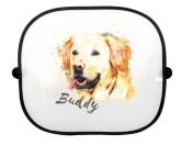 Für MenschenHunde Motiv Handtuch -watercolour-Sonnenschutz-Blende: Labrador Retriever 2
