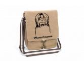 Bekleidung & AccessoiresHundesportwesten mit Hundemotiven inkl. Rückentasche MIL-TEC ®Briard 2 Canvas Schultertasche Tasche mit Hundemotiv und Namen