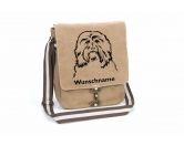 Bekleidung & AccessoiresHundesportwesten mit Hundemotiven inkl. Rückentasche MIL-TEC ®Havaneser 3 Canvas Schultertasche Tasche mit Hundemotiv und Namen